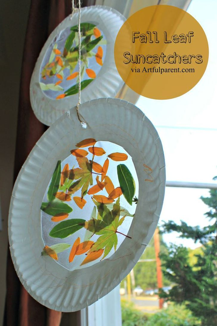 23 Fall Leaves Suncatchers