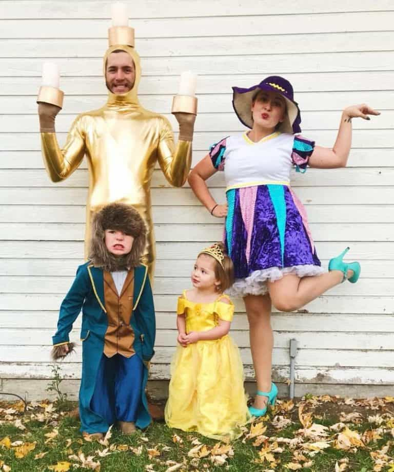 24 DIY Family Halloween Costumes