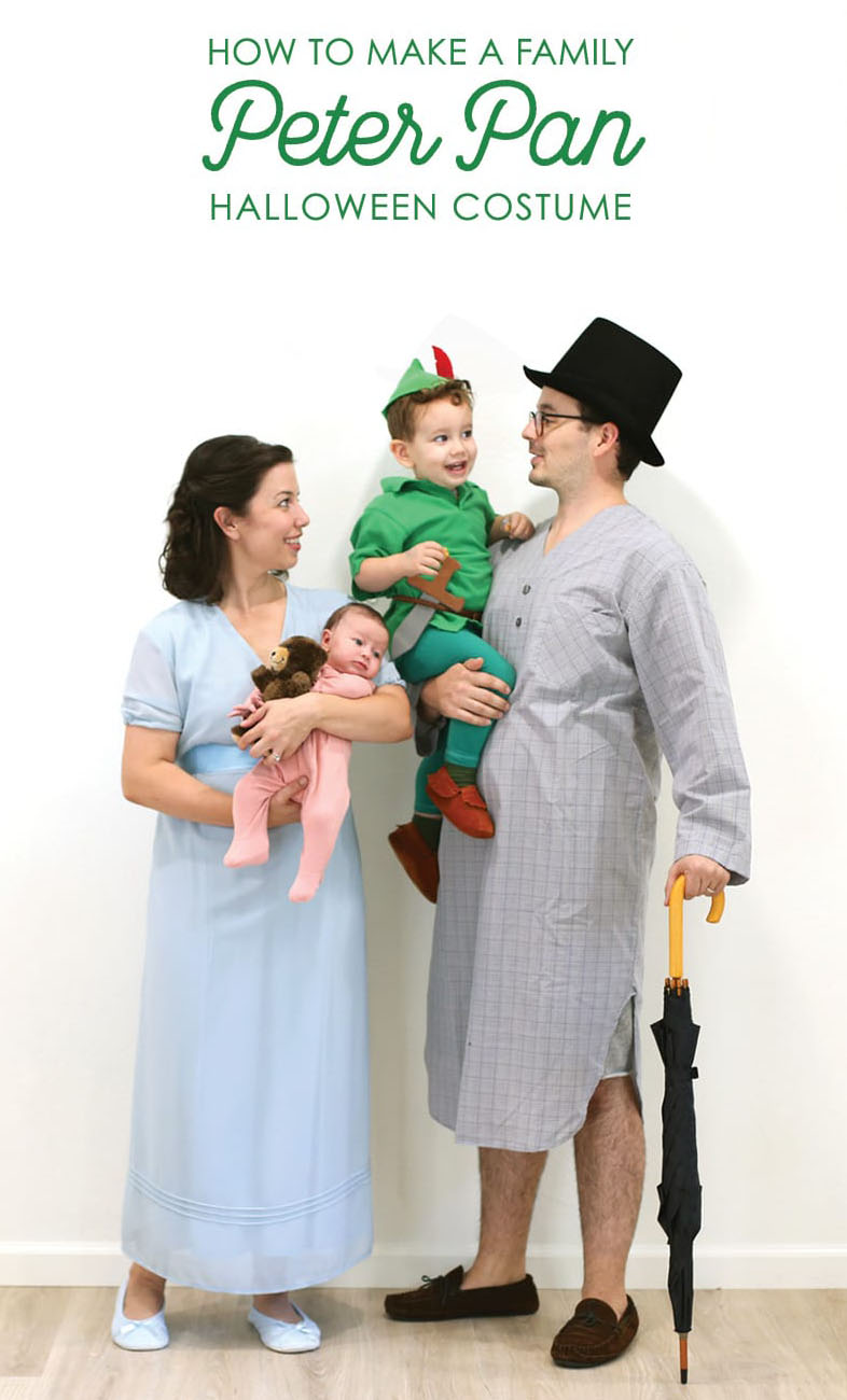 37 Peter Pan Family Halloween Costume