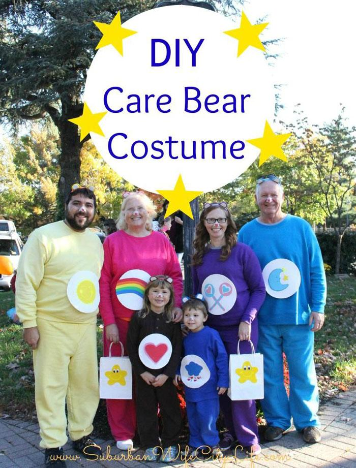 39 DIY Care Bear Family Halloween Costumes