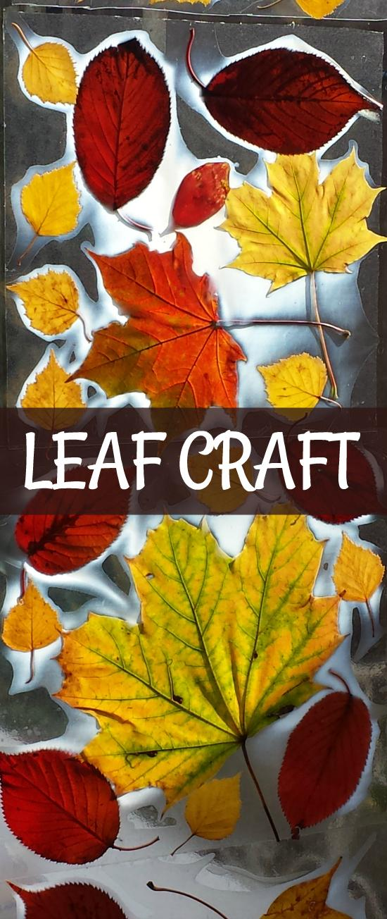 4 AUTUMN LEAF CRAFT