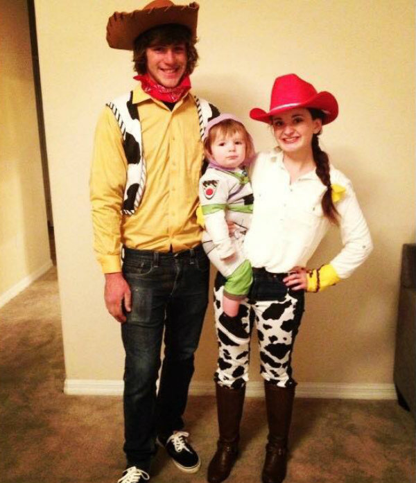 5 Toy Story Family Halloween Costumes