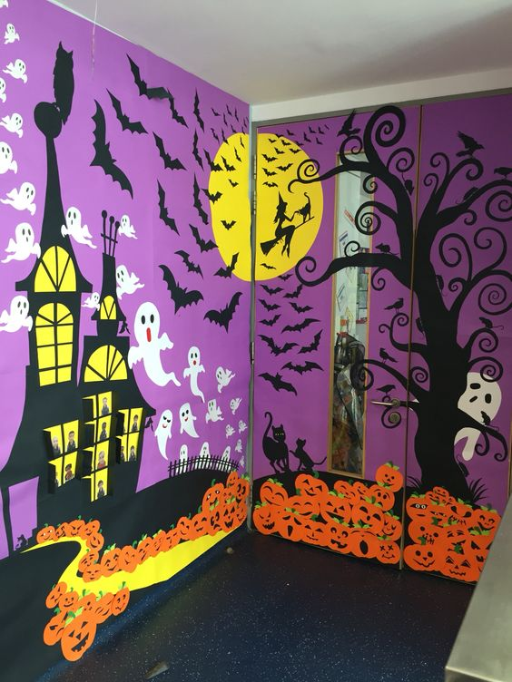 6 Haunted classroom decorations