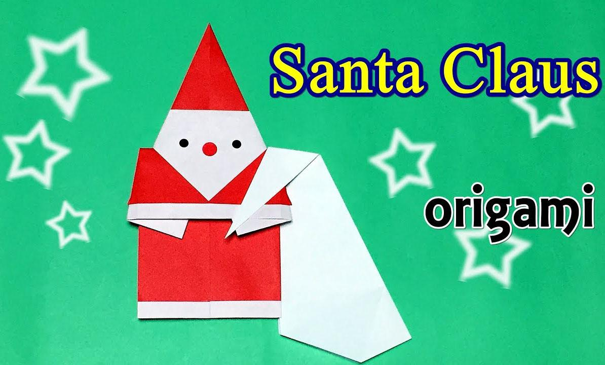 6 Very Cute and Easy Santa Claus