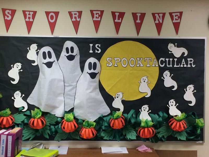 8 Spooktacular bulletin board