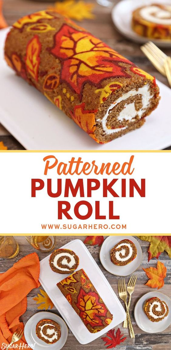 1 PUMPKIN ROLL RECIPE