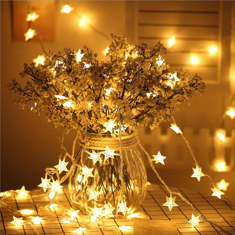 10 Star String Lights