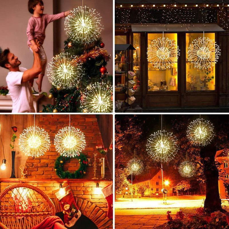 11 Firework Lights Wire Lights