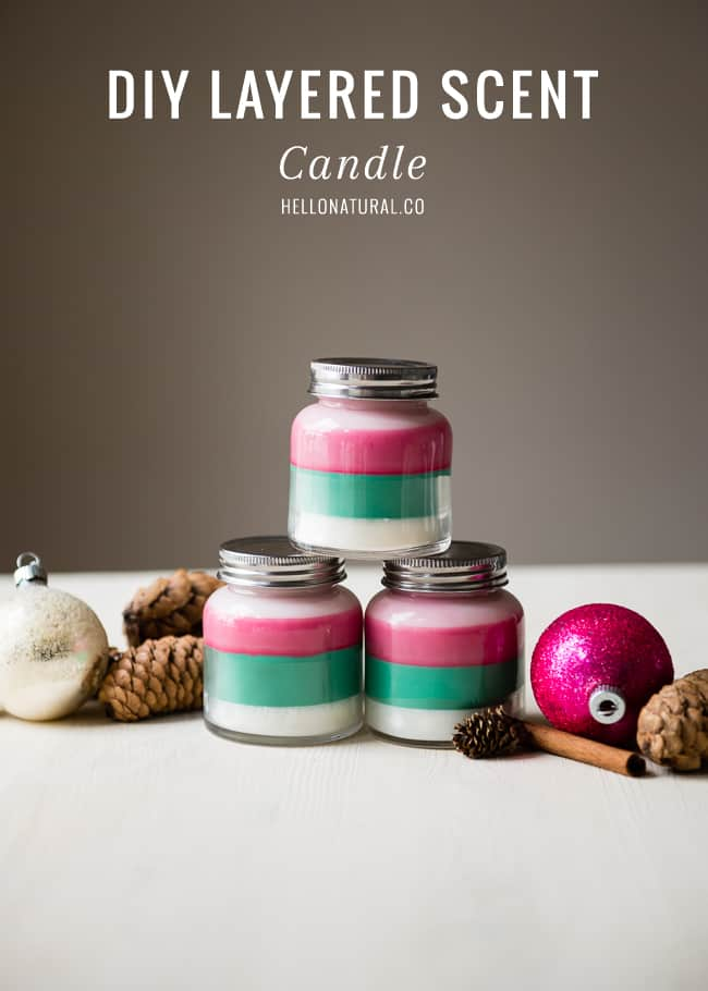 11 Layered Scent Holiday Candles
