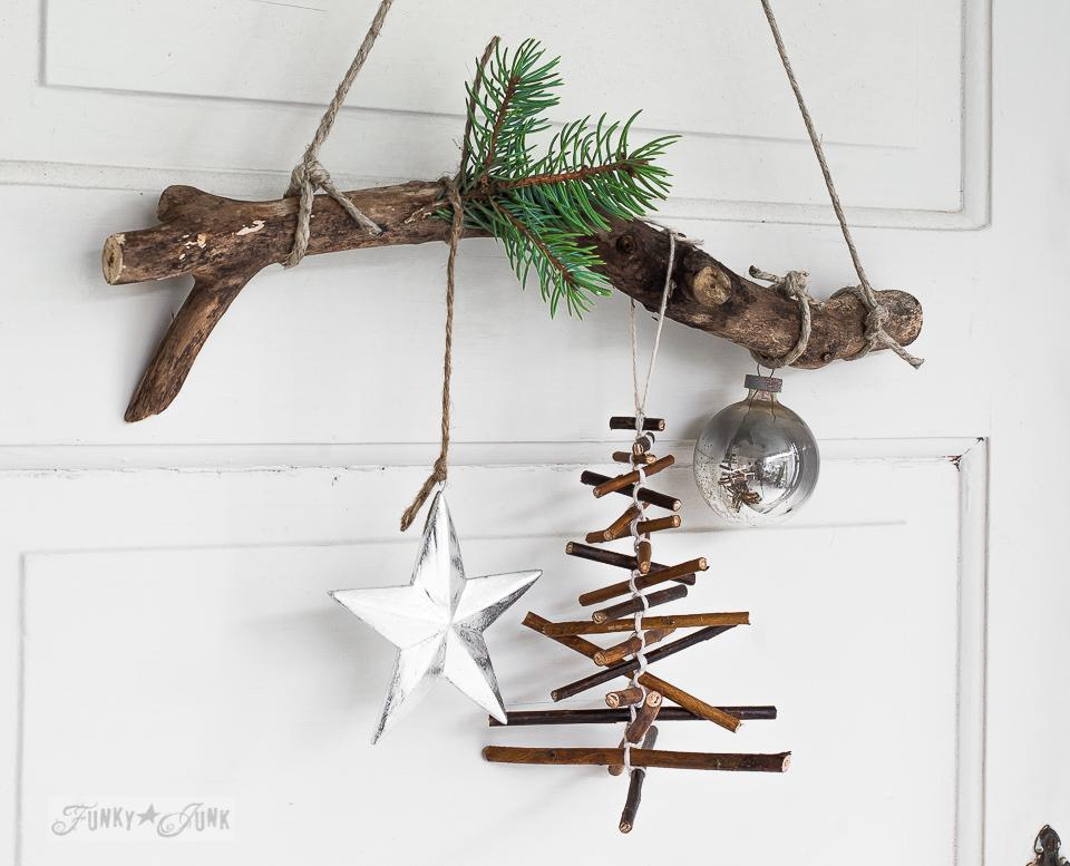 12 Rustic Twig Christmas Tree