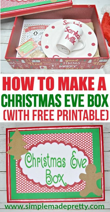 13 Christmas Eve Box