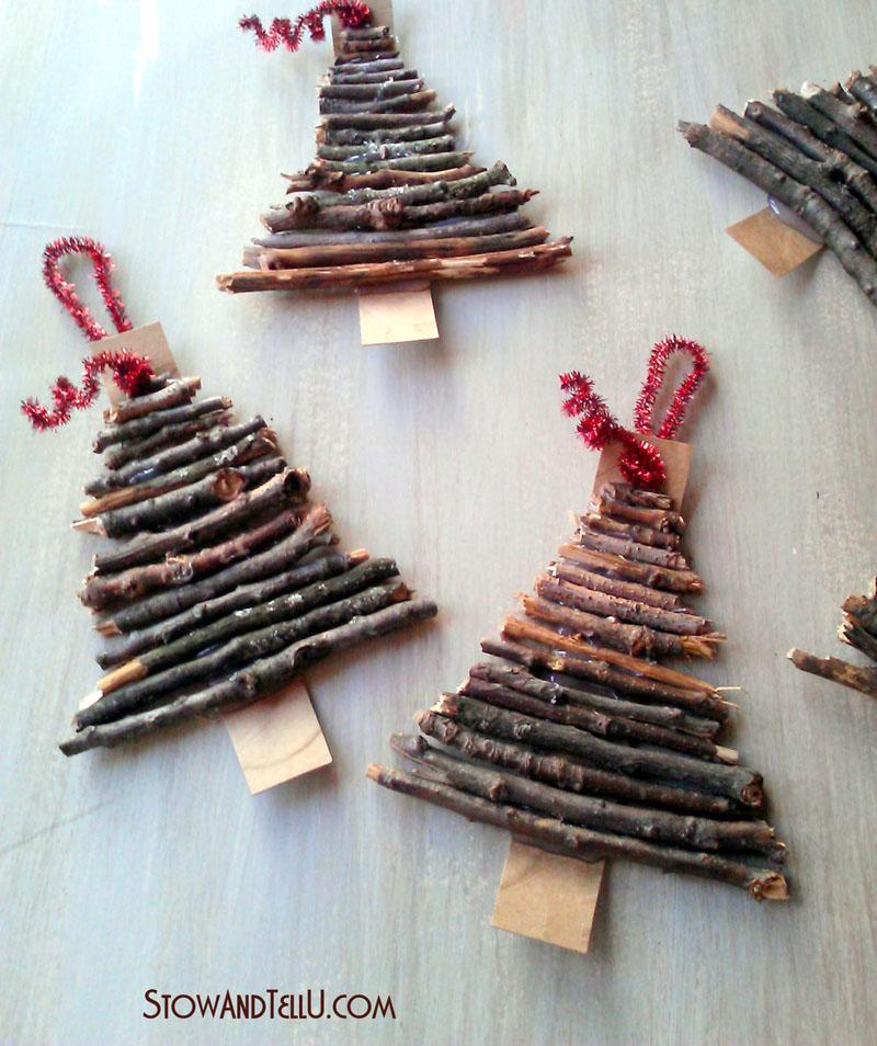 14 Rustic Twig Christmas Tree