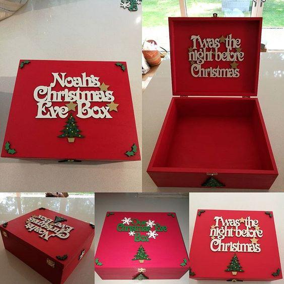 16 CHRISTMAS EVE BOXES
