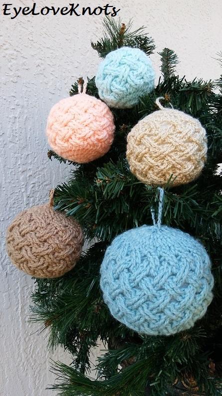 16 Celtic Weave Bauble Ornament