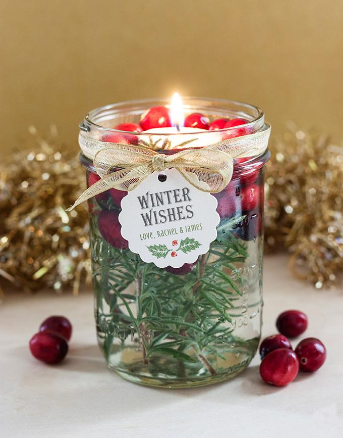 16 HOLIDAY FLOATING CANDLES