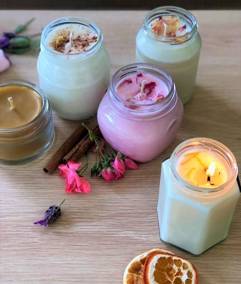 17 Homemade Scented Candles