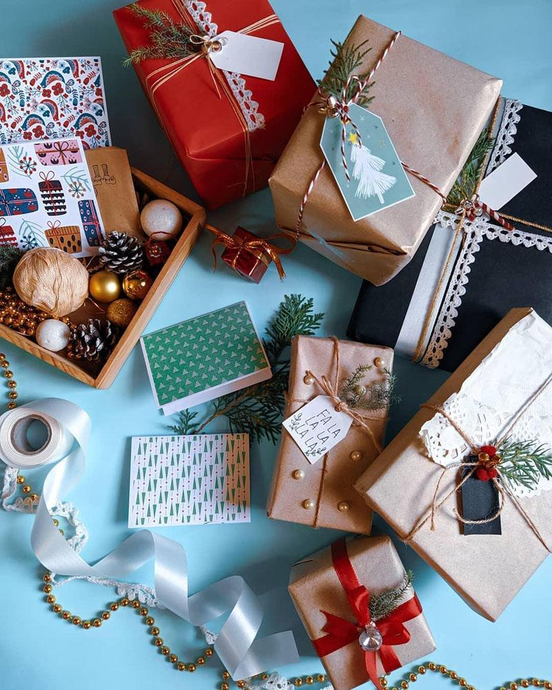 18 Christmas Gift Wrapping Ideas