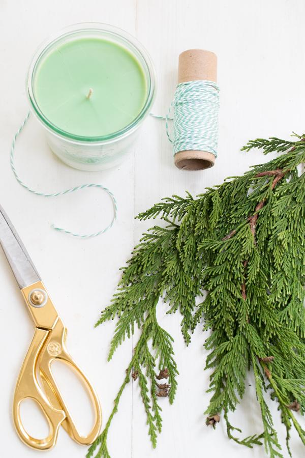 18 DIY PINE SCENTED SOY CANDLES