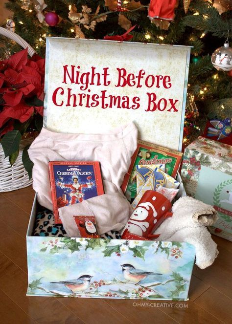18 Night Before Christmas Box