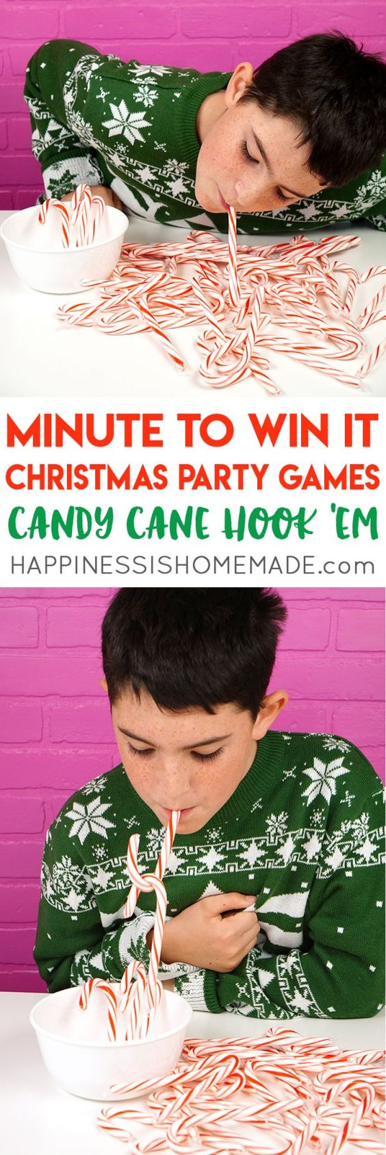 19 Christmas Minute to Win It games