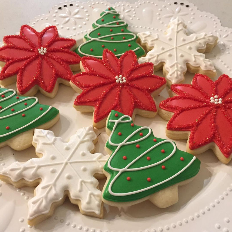 22 Red Green and White for Christmas Cookies