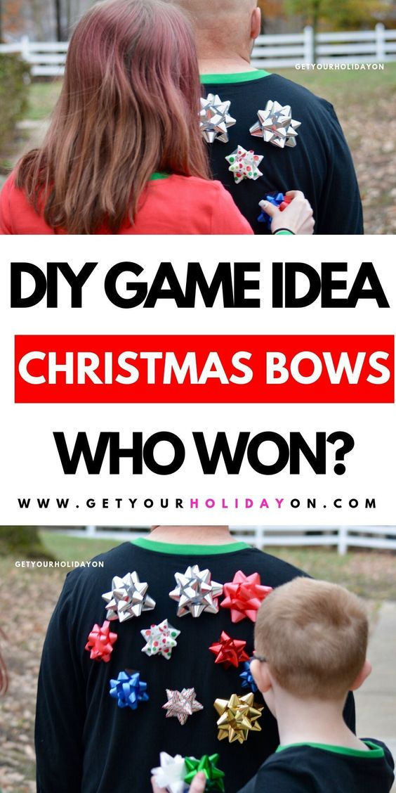 23 How to Play a Game with Christmas Bows