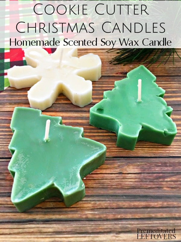 23 Scented Cookie Cutter Christmas Candles