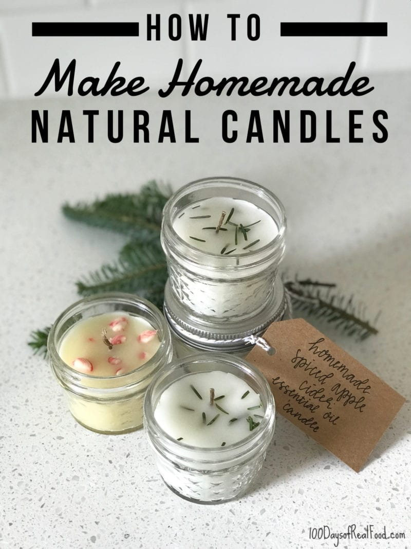 24 Homemade Natural Candles