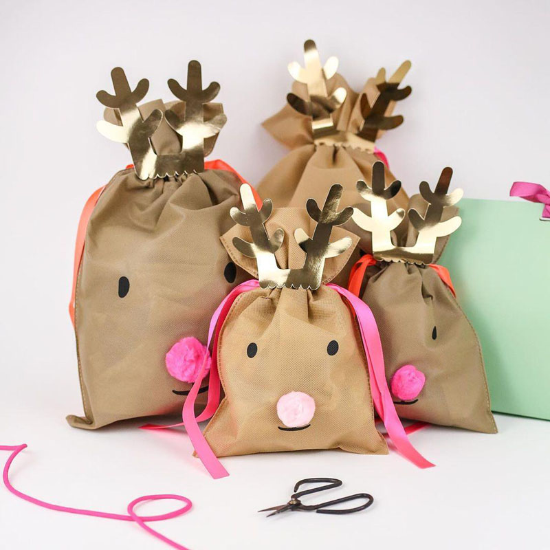 25 Christmas Gift Bags