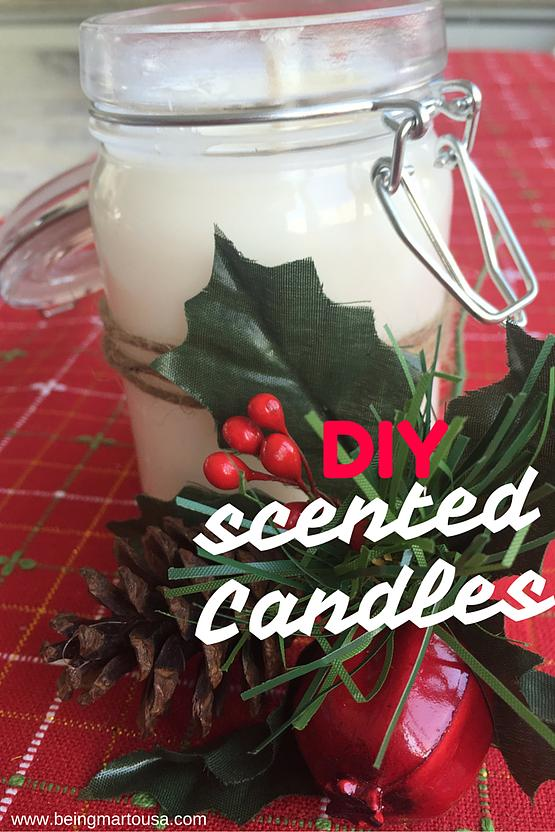 25 DIY Scented Candles