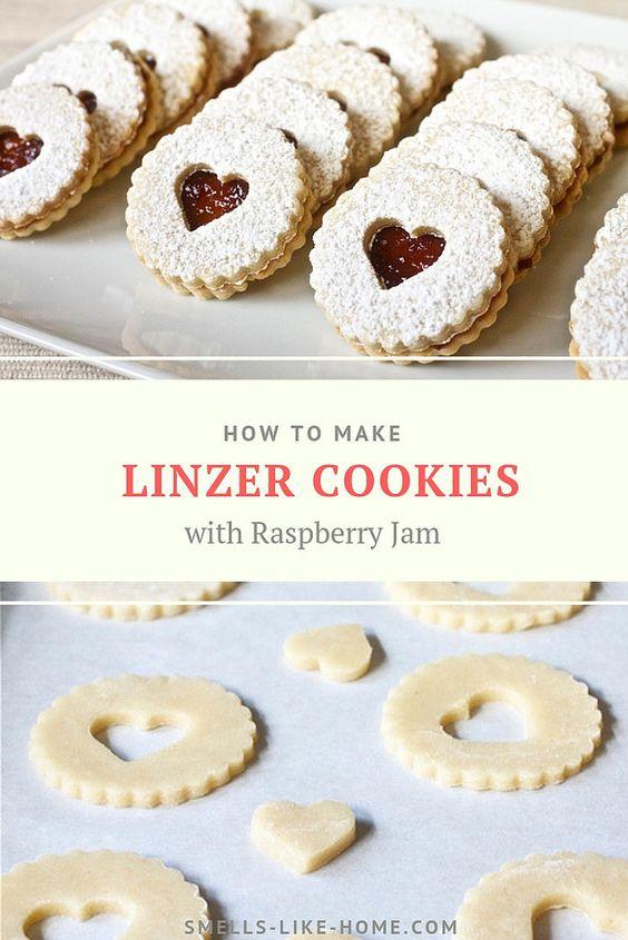26 Linzer Cookies