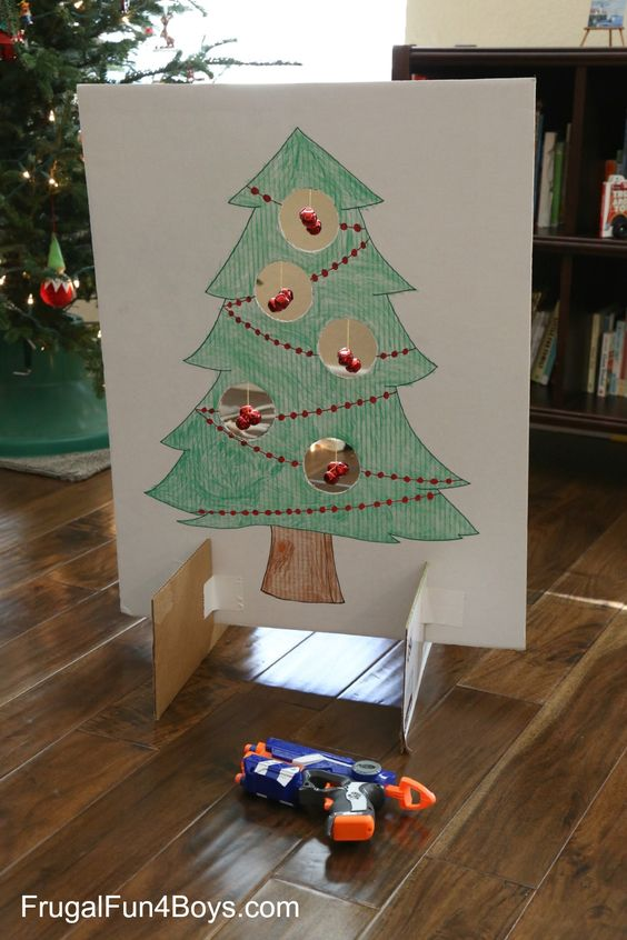 28 Jingle Bell Nerf Games