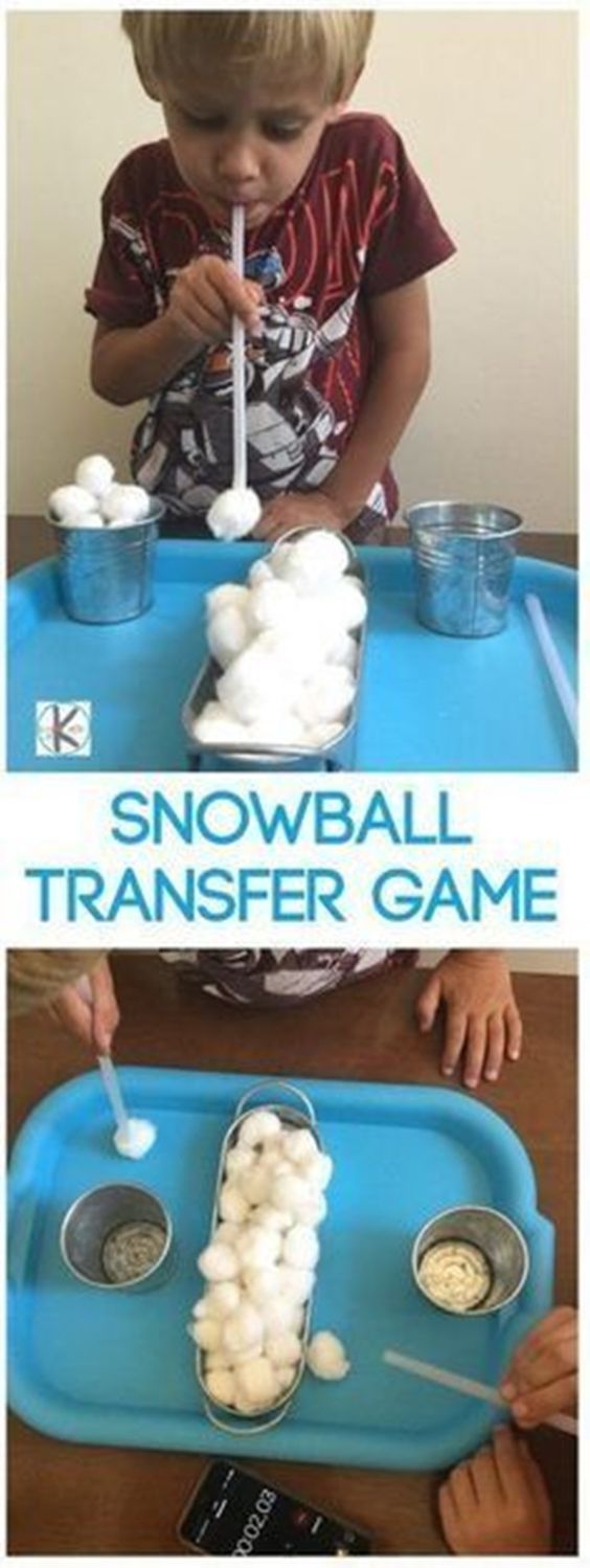 29 Snowball Kindergarten Games