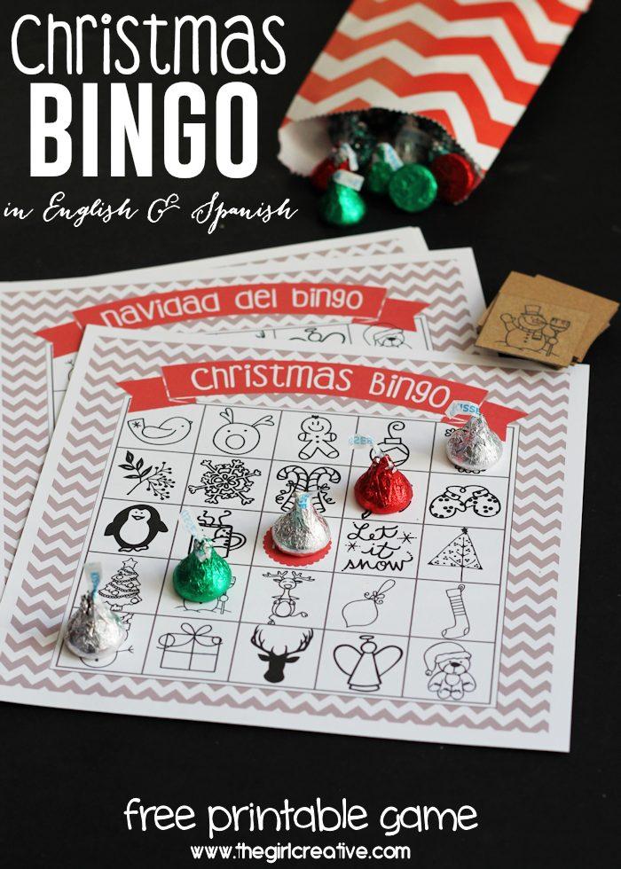 3 Christmas Bingo