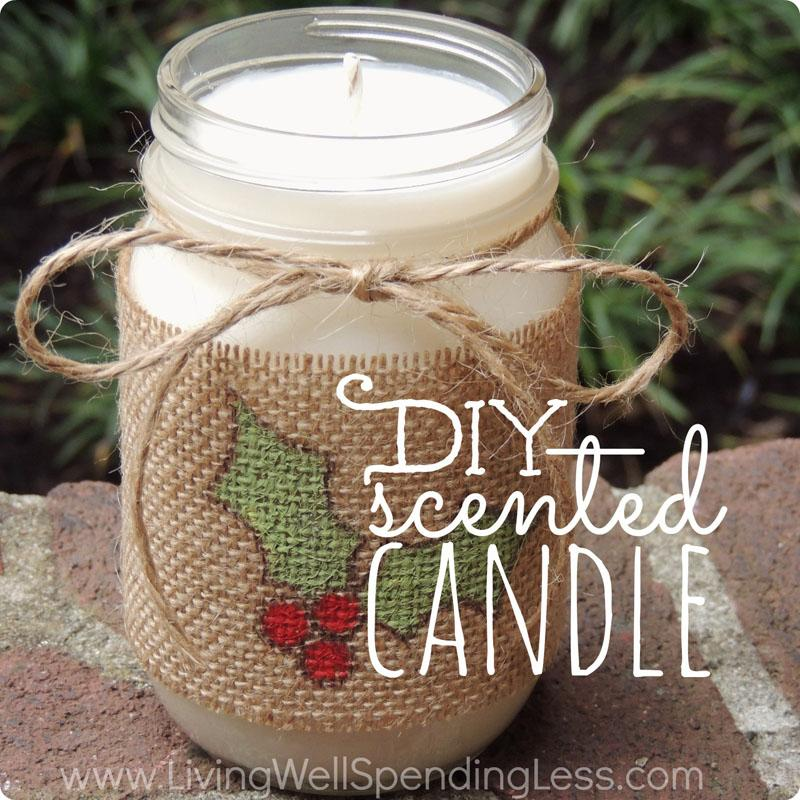 3 DIY SCENTED CANDLE