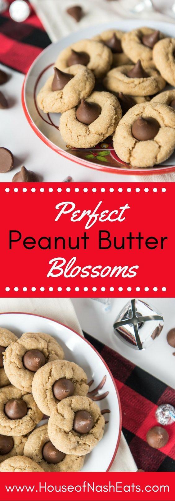 34 Peanut Butter Blossoms