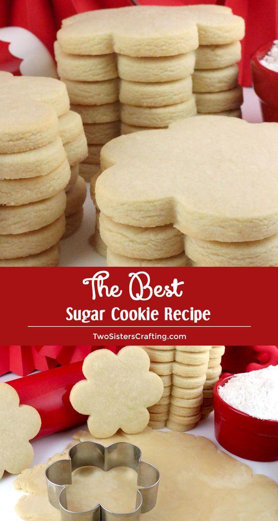 38 The Best Sugar Cookie