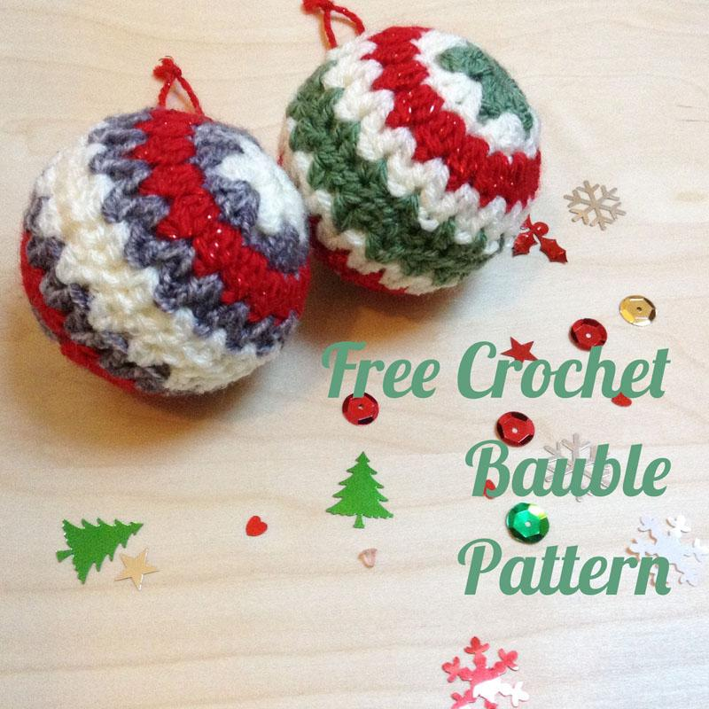 4 Crochet Star Bauble