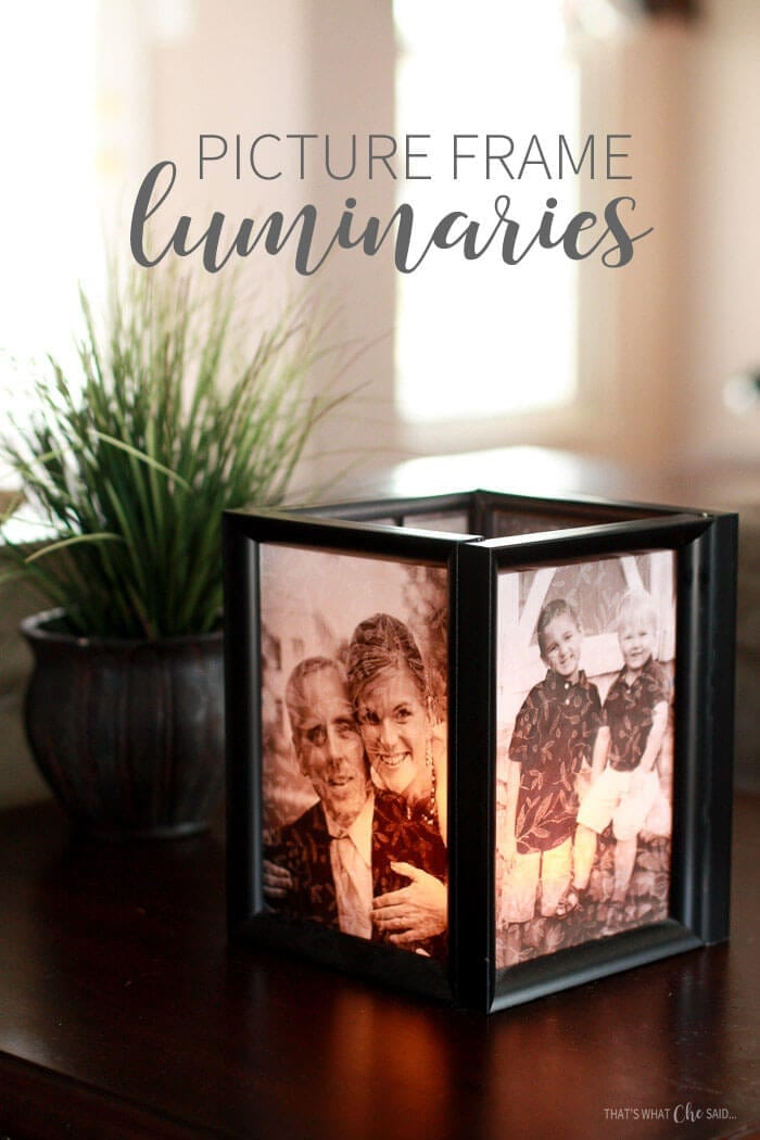 41 Picture Frame Luminaries