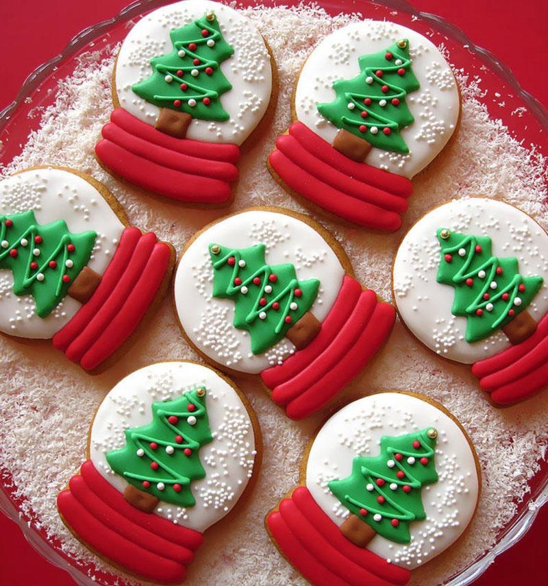 43 Snow Globe Cookies