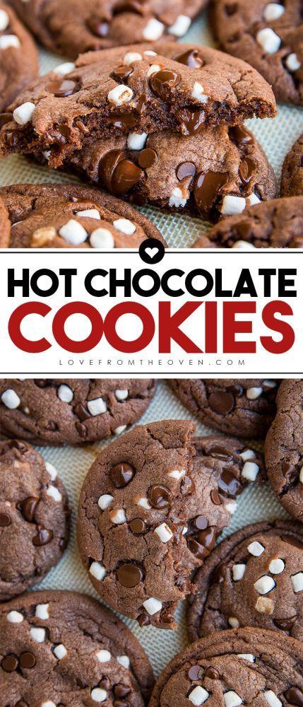 5 Hot Chocolate Cookies