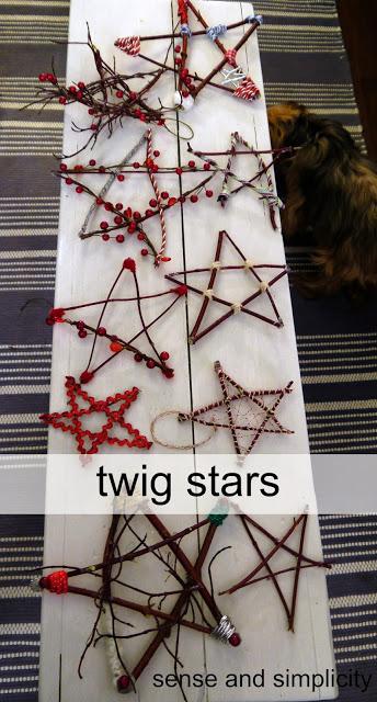 6 TWIG STARS