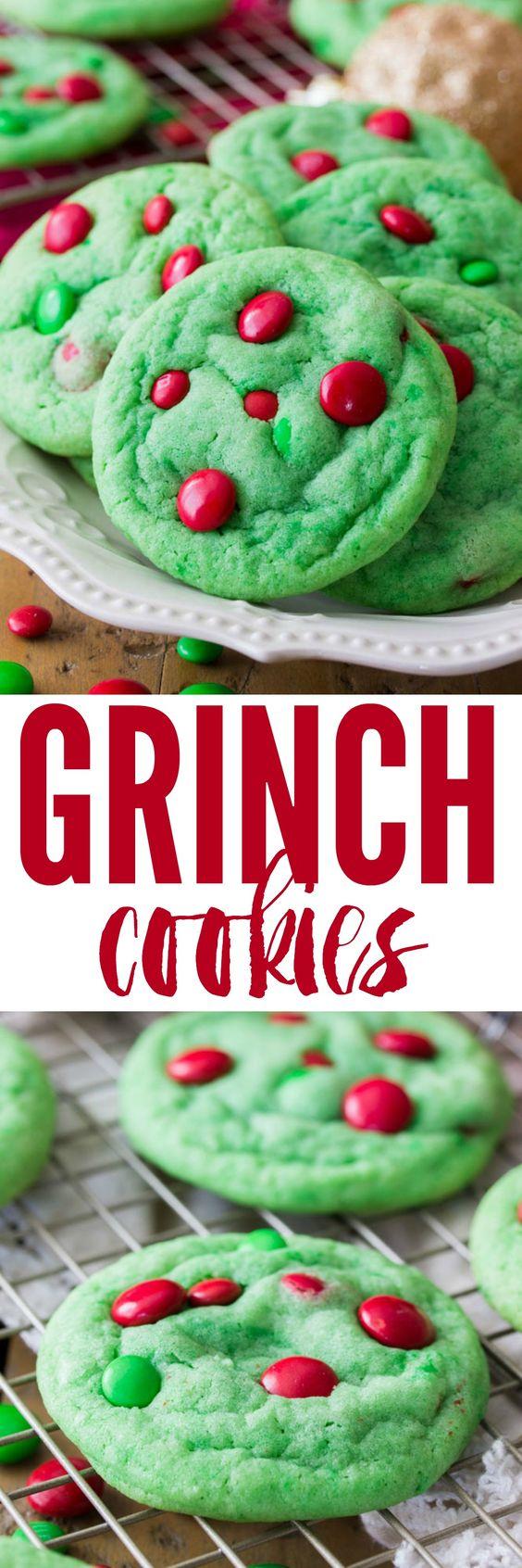 7 Grinch Cookies