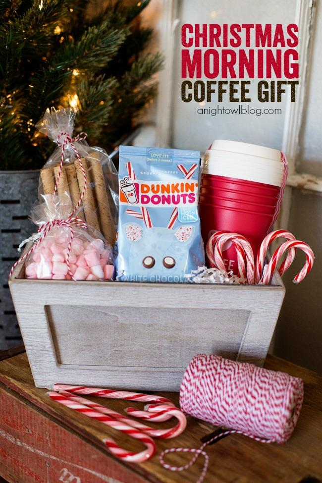 1 Christmas Morning Coffee Gift Basket