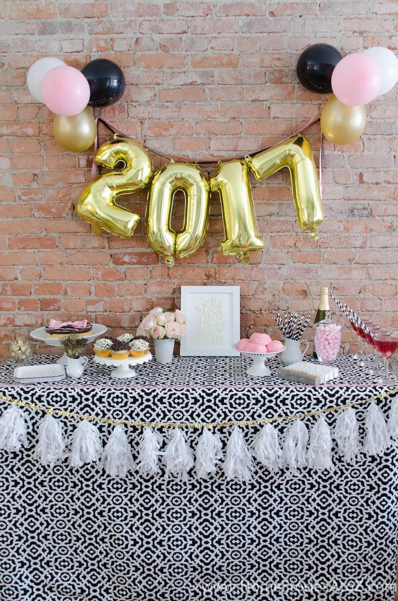 12 Easy New Years Eve Party Ideas