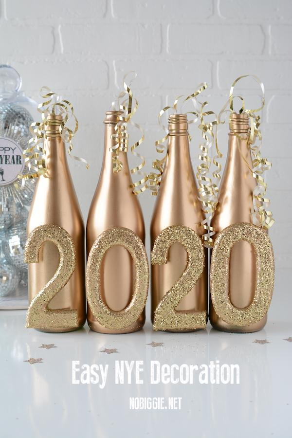 14 2020 Wine Bottle Decor