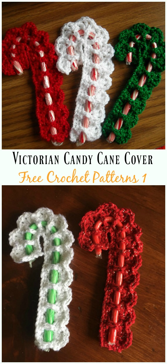 14 Victorian Candy Cane Cover