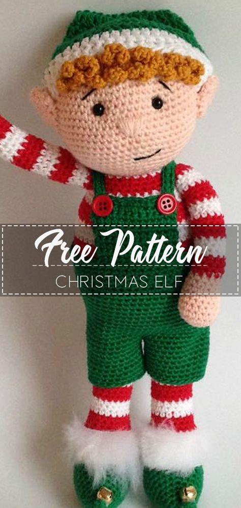 17 Christmas Elf – Pattern Free
