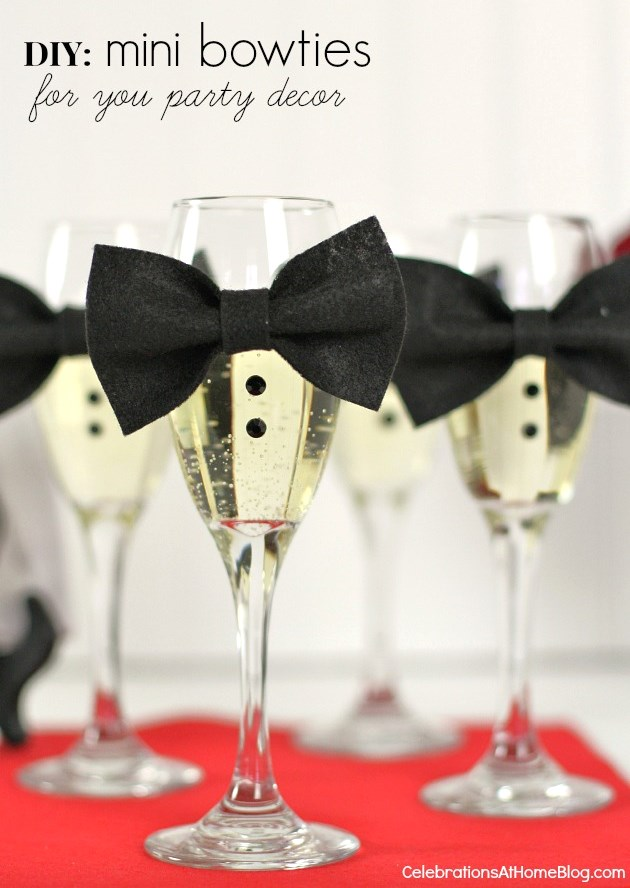 18 DIY Mini Bow Ties to Dress Up the Party