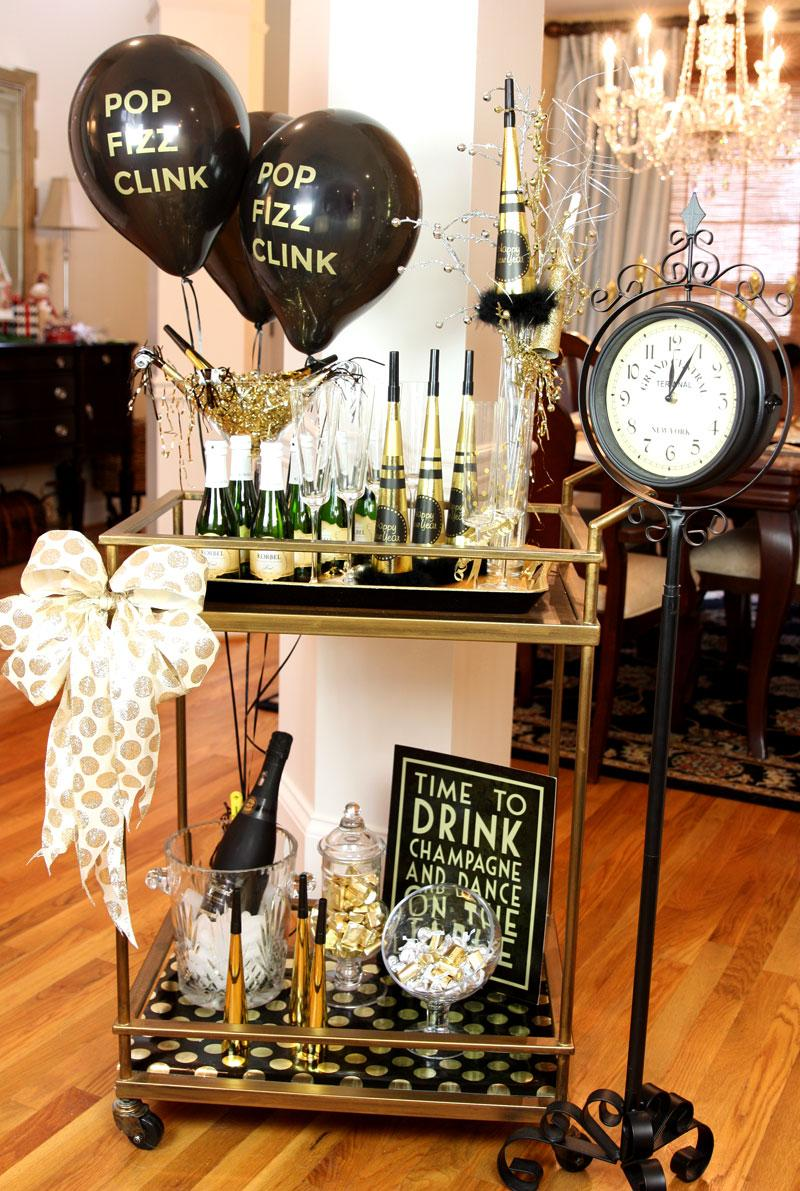 19 Drinks Cart for New Year Party